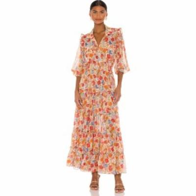 ミサロサンゼルス MISA Los Angeles レディース ワンピース ワンピース・ドレス x revolve aydeniz dress misa los angeles Vintage Flor