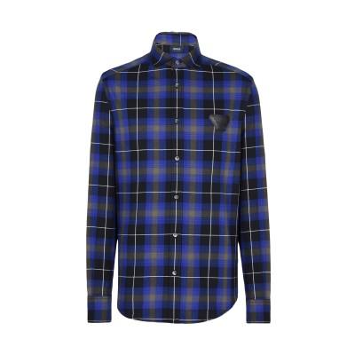 アルマーニ ジーンズ ARMANI JEANS シャツ ブルー S コットン 100% シャツ