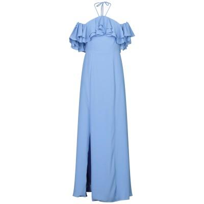 BY MALINA ロングワンピース&ドレス アジュールブルー XS ポリエステル 100% ロングワンピース&ドレス