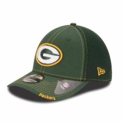 New Era ニュー エラ スポーツ用品  New Era Green Bay Packers Green Neo 39THIRTY Flex Hat