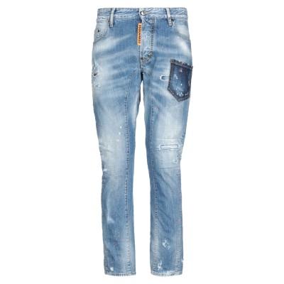 ディースクエアード DSQUARED2 ジーンズ ブルー 52 コットン 100% / ポリウレタン ジーンズ