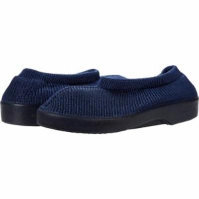 アルコペディコ Arcopedico レディース シューズ・靴 Soft Navy/Faux Fur lined