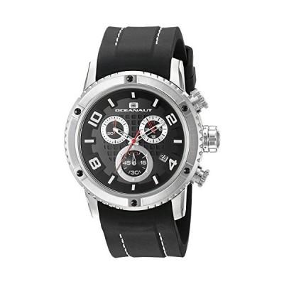 Oceanaut Men's OC3120R Analog Display Quartz Black Watch 並行輸入品
