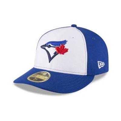 ニューエラ メンズ 帽子 アクセサリー Toronto Blue Jays Low Profile AC Performance 59FIFTY Cap Light Royal