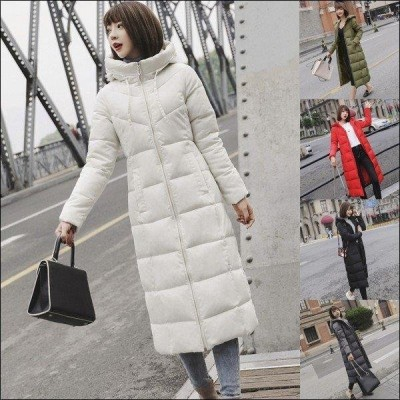 ダウンコート レディース 中綿コート ダウンジャケット フード付きコート ロング丈 ダウン風 大きいサイズ 着痩せ 防寒 厚手 防風