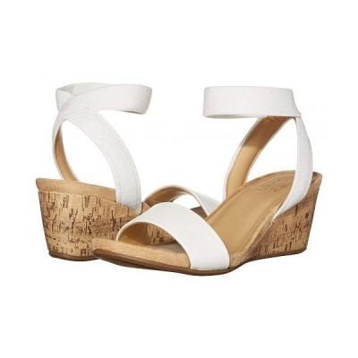 Naturalizer ナチュラライザー レディース 女性用 シューズ 靴 ヒール Angela - White Smooth