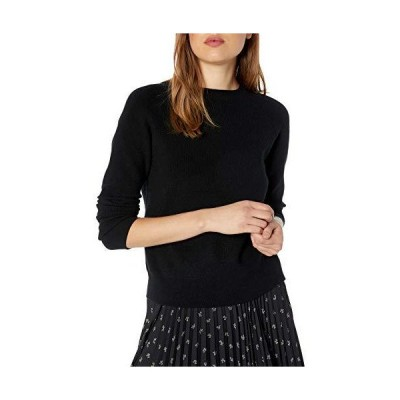 kensie Women's Comfy Viscose Blend Sweater, Black, Medium並行輸入品 送料無料