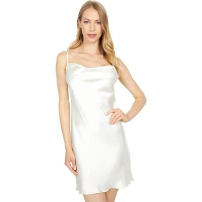 ベベ Bebe レディース ワンピース ミニ丈 ワンピース・ドレス Satin Bias Mini Dress Ivory