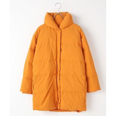 TABASA/タバサ ナイロンダウンコート オレンジ S