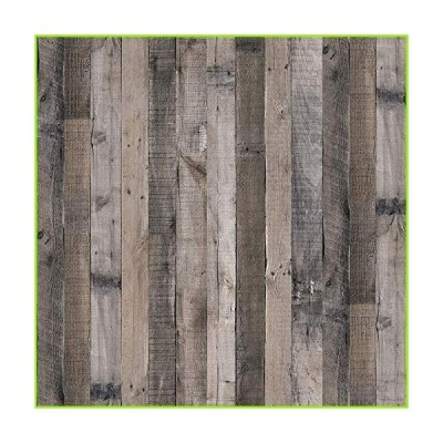 """Gray Wood Wallpaper Wood Peel and Stick Wallpaper 17.7""""x 118.1""""Faux Wood Plank Paper Wood Self Adhesive Removable Wall Decorative Reclai"""