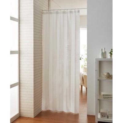 パタパタたためて幅丈調節出来るパーテーションカーテン のれん・カフェカーテン, Curtains(ニッセン、nissen)