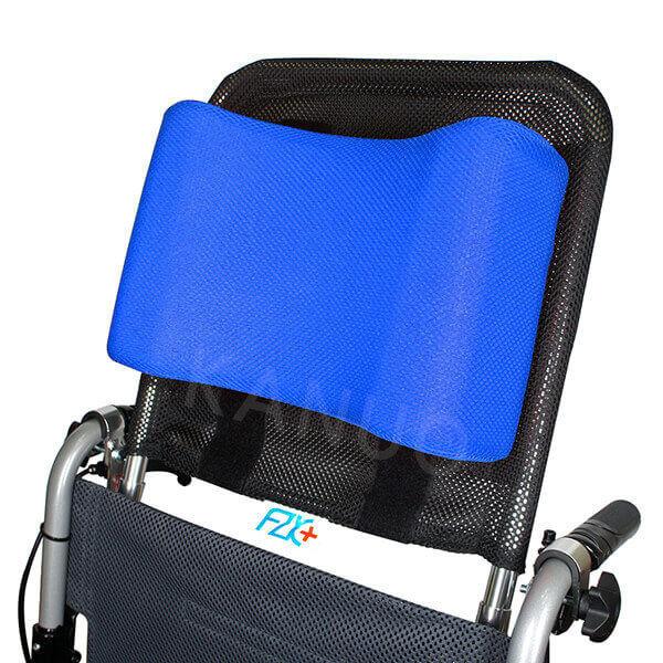 富士康輪椅頭靠組 頭靠可調角度 頭靠枕藍色
