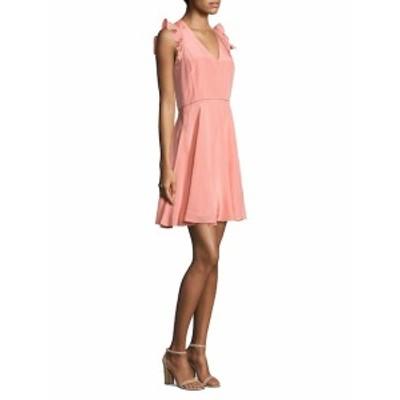レベッカテイラー レディース ワンピース Ruffled Silk Dress