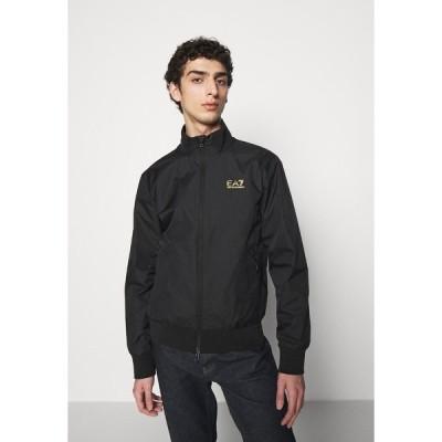 エンポリオ アルマーニ ジャケット&ブルゾン メンズ アウター Bomber Jacket - black/gold
