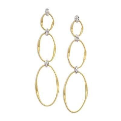 マルコ ビチェゴ レディース ピアス・イヤリング アクセサリー 18K Yellow Gold Onde Triple Link Post Earrings