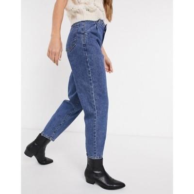 オブジェクト レディース デニムパンツ ボトムス Object slouch jeans in blue