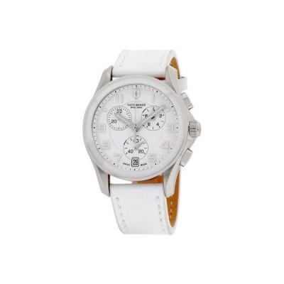 Victorinox ヴィクトリノックス スイス Army メンズ 241500 ホワイト ダイヤル クロノグラフ 腕時計