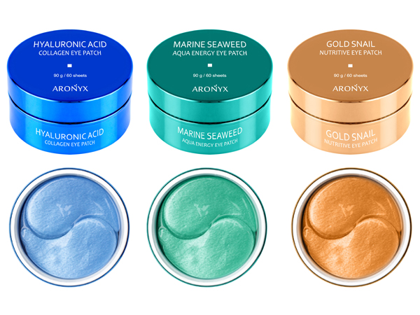 韓國 ARONYX 玻尿酸補水/海洋珍珠/黃金蝸牛全效 保濕眼膜(30對) 款式可選【D046103】