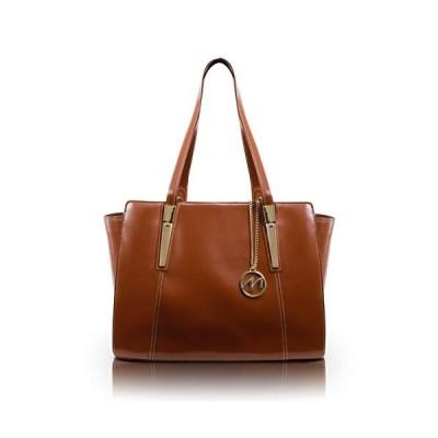 Mcklein, M Series, Aldora, Top Grain Cowhide Leather, Ladies' Tote with Tablet Pocket, Brown (97504)【並行輸入品】