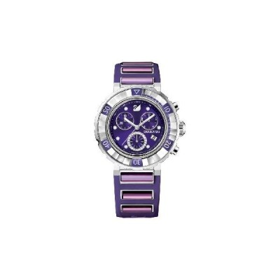 スワロフスキー Swarovski 『Octea Chrono - Amethyst DTL, purple』 1088675