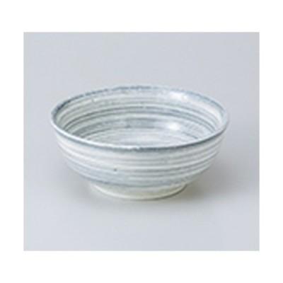 小鉢 和食器 / うず粉引グレー3.5ボール 寸法:10.5 x 5cm