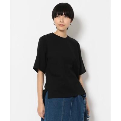 (RoyalFlash/ロイヤルフラッシュ)KALNA/カルナ/無地Tシャツ/レディース BLACK
