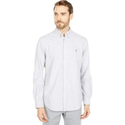 ラルフ ローレン Polo Ralph Lauren メンズ シャツ ワイシャツ トップス Classic Fit Oxford Shirt Grey/White