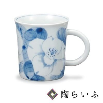 九谷焼 マグカップ 白椿/紅椿窯 和食器 マグカップ 人気 ギフト