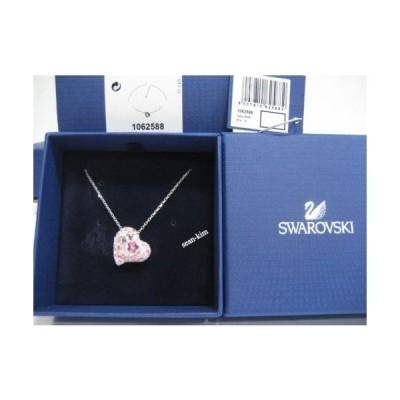 ネックレス スワロフスキー Swarovski Alana Heart Pendant , Love Pink, Lt. Rose Clear Crystal - 1062588