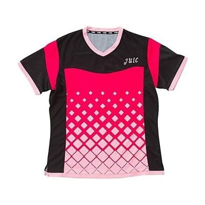 JUIC(ジュイック) サーフα レディース 卓球用ウェア ピンク PI S