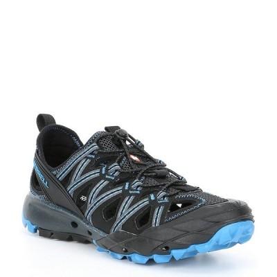 メレル メンズ サンダル シューズ Men's Choprock Sandal Granite/Blue