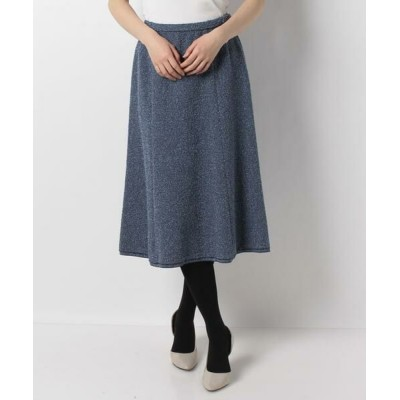 Leilian PLUS HOUSE/レリアンプラスハウス ロングフレアスカート ブルー系7 13+