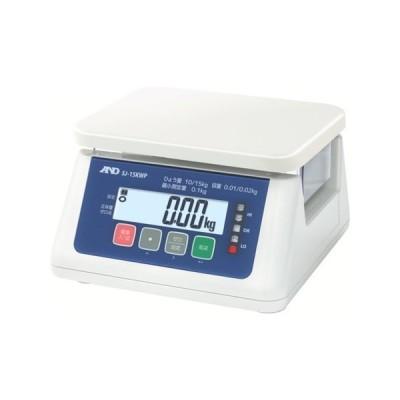 取引・証明用(検定済品)防塵・防水デジタルはかり A&D SJ15KWP-8503