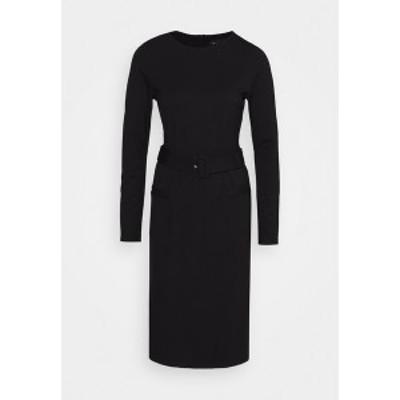 サンド コペンハーゲン レディース ワンピース トップス VENDELA - Shift dress - black black