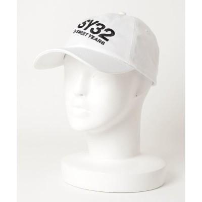 帽子 キャップ SY32 by SWEETYEARS /エスワイサーティトゥバイ スィートイヤーズ /SY32 ロゴ CAP
