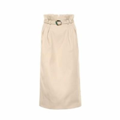 ガブリエラ ハースト Gabriela Hearst レディース スカート Jordan cotton skirt Khaki