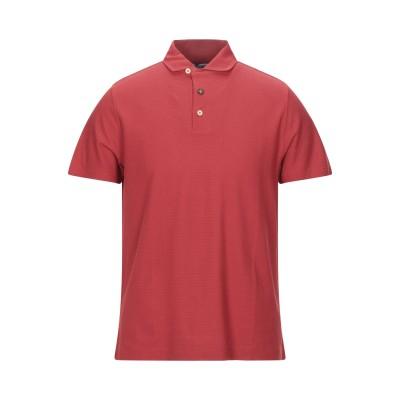 ヘリテージ HERITAGE ポロシャツ レッド 50 コットン 100% ポロシャツ