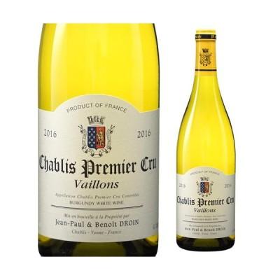 シャブリプルミエ クリュ ヴァイヨン 2016 ジャンポール エ ブノワ ドロワン 750ml フランス ブルゴーニュ 白ワイン 1級