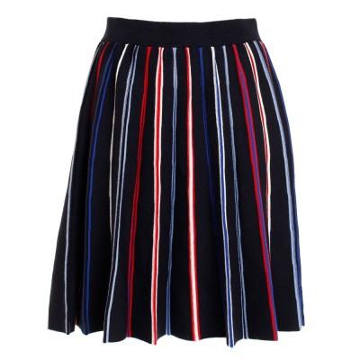 トミーヒルフィガーウェアMULTISTRIPE セータースカート THLA127-NVYネイビー