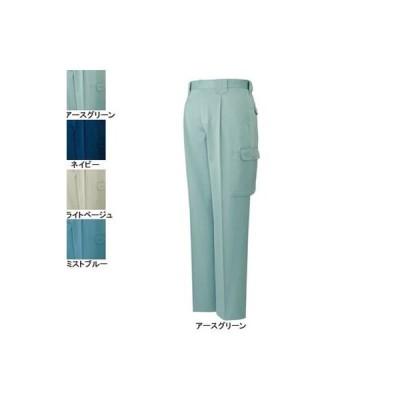 作業服 作業着 秋冬用 ズボン 自重堂 40102 製品制電ワンタックカーゴパンツ 79・アースグリーン039