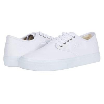 Lakai Oxford メンズ スニーカー 靴 シューズ White Canvas