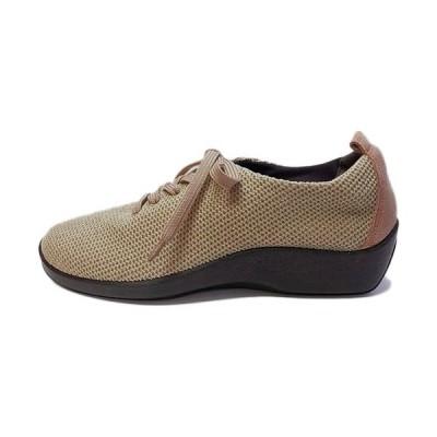 アルコペディコ(ARCOPEDICO) レディース L'ライン ワッフル スニーカー WAFFLE SNEAKERS トープ 5061300 15 靴 シューズ カジュアル おしゃれ