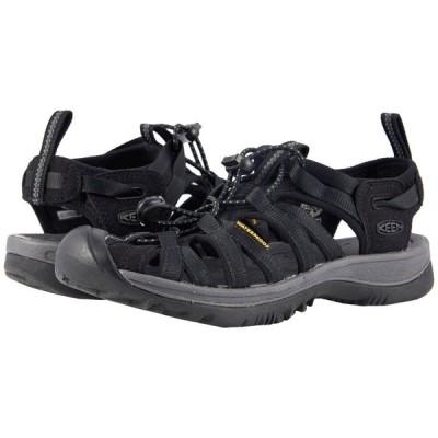 キーン KEEN レディース サンダル・ミュール シューズ・靴 Whisper Black/Magnet