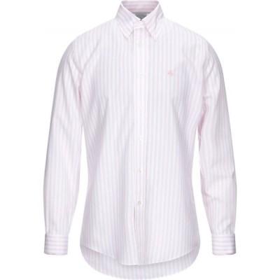 ブルックス ブラザーズ BROOKS BROTHERS メンズ シャツ トップス striped shirt Pink