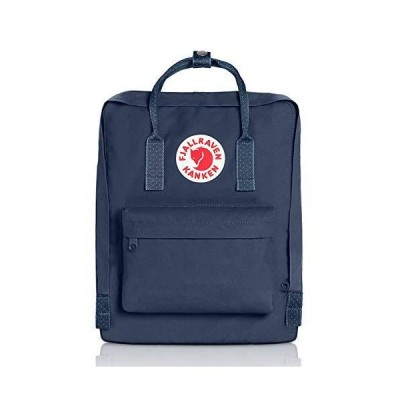 Fjallraven - Kanken Classic Backpack for Everyday, Royal Blue/Pinstripe Pattern【並行輸入品】