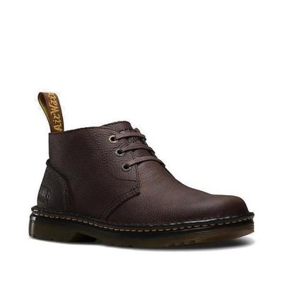 ドクターマーチン ブーツ&レインブーツ メンズ シューズ Dr. Martens Men's Sussex Boot Dark Brown