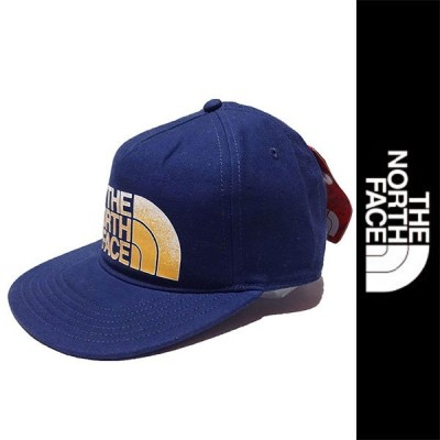 新品 THE NORTH FACE CAP ザ ノースフェイス キャップ ネイビー アウトドア ベースボール 帽子 サンプル正規 (J2418-NFG0010)