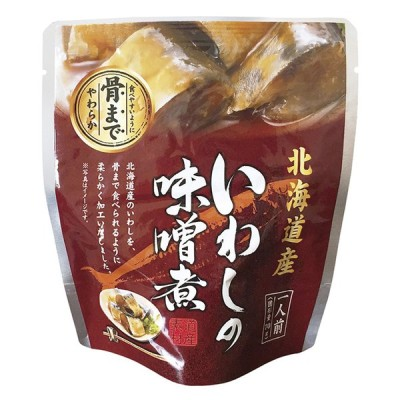 北海道産 いわしの味噌煮