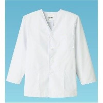 STY052 男性用調理衣 長袖 FA-320 M:_