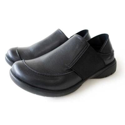 Re:getA 2WAYカジュアルゴアシューズ(ブラック×ブラック・サイズ:M) 短靴 レディース サイズ目安:23.0-23.5 R325-BLK/ BLK-M 返品種別A